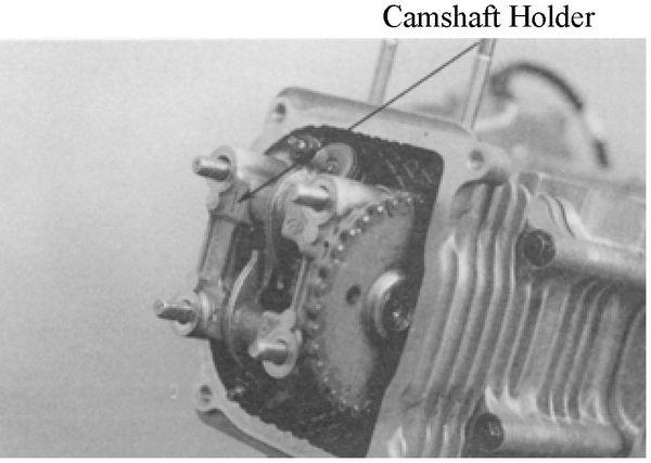 kymco super8-50 4-stroke camshaft rocker arms valves cylinder head