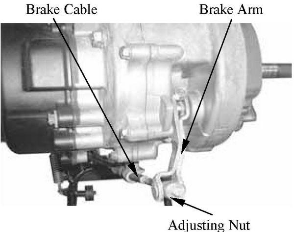 kymco super8-50 4 stroke rear wheel brake drum shoes