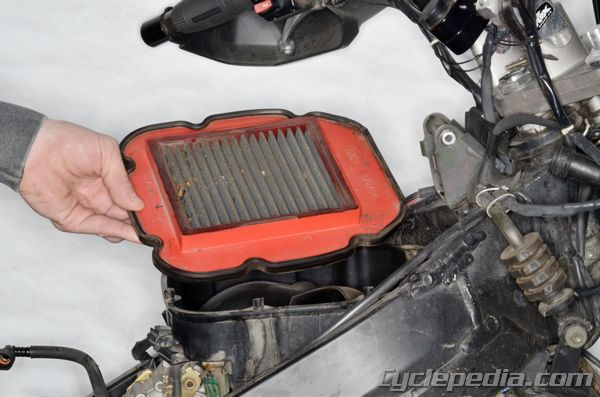 Maintenance Adjustment Settings Suzuki DL650 V-Strom Cyclepedia Repair Manual