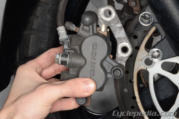 Brakes Suzuki DL650 V-Strom Cyclepedia Repair Manual