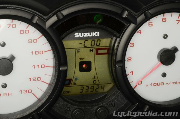 Specifications Torque Suzuki DL650 V-Strom Cyclepedia Repair Manual