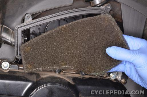 kymco super8 50 2t brake adjustment maintenance oil air filter oil pump