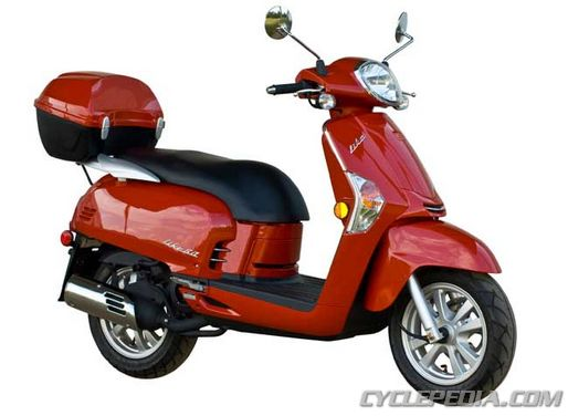 KYMCO Like 50 2-stroke scooter online repair manual