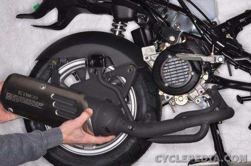 kymco like 50 scooter bodywork front rear fender side covers leg shield handlebar cover exhaust