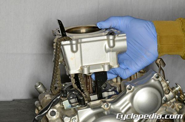 Yamaha WR250R WR250X Engine Top End Transmission
