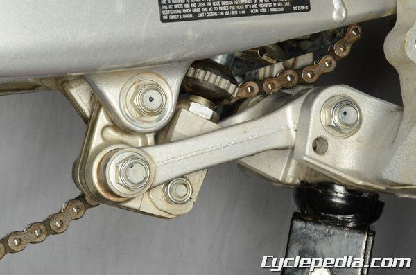 Yamaha WR250R WR250X Rear Suspension Shock Absorber