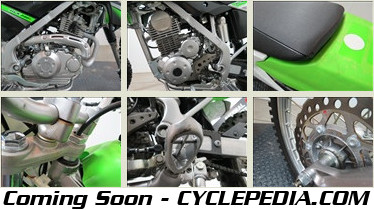 Cyclepedia KLX140 Manual