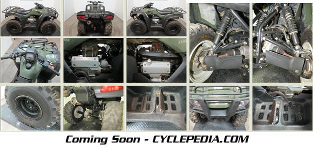 Cyclepedia 2000-2006 Honda Trx350 Rancher Atv Online Manual
