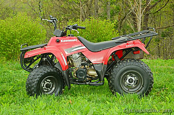 Bayou 220 250 KLF220 KLF250 Kawasaki Service Manual - Cyclepedia on