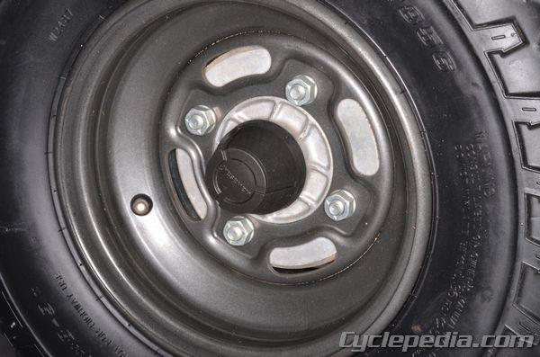 Kawasaki KLF220/250 Bayou Wheels