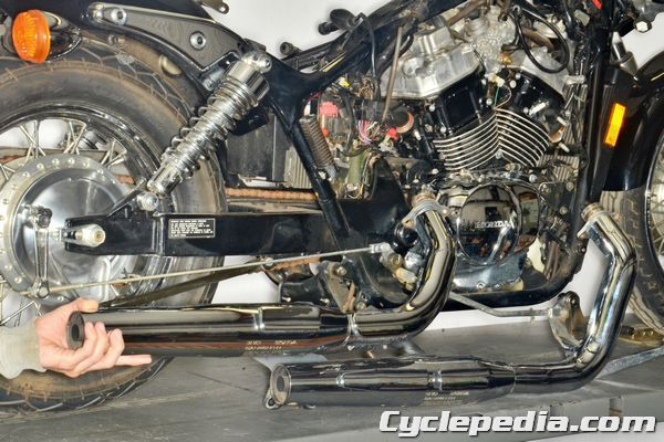 Honda VT750 Shadow Spirit Exhaust System