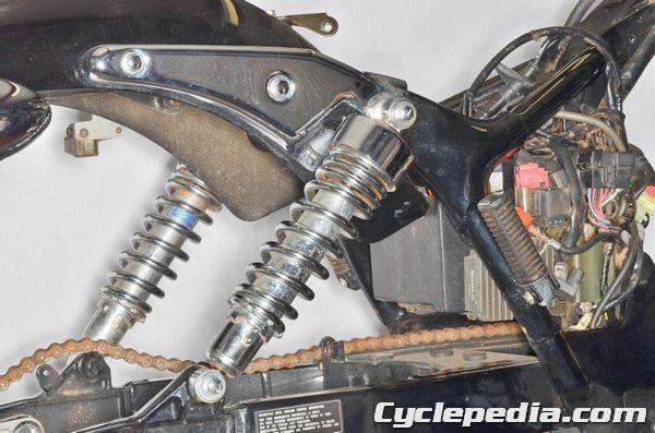 Honda VT750 Shadow Spirit Rear Suspension Shock Absorber