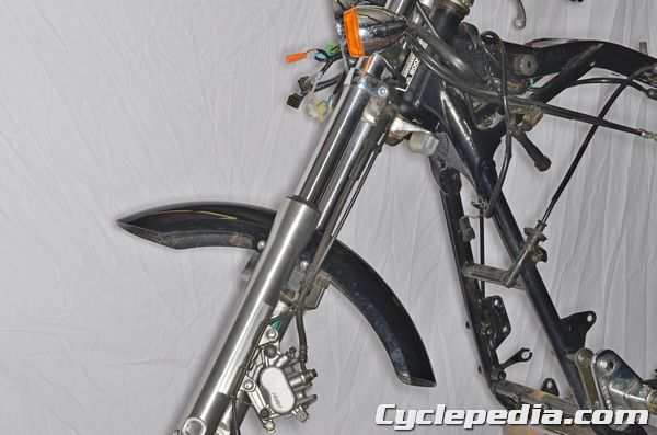 Honda VT750 Shadow Spirit Front Forks Suspension