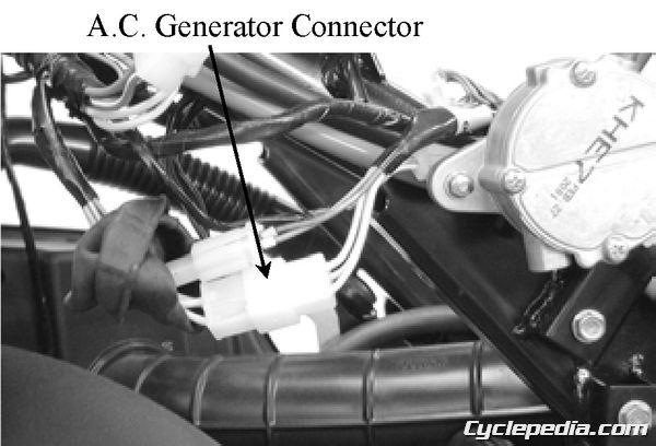 KYMCO Grand Vista 250 Charging System