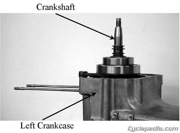 Grandvista 250 Crankcase Seperation
