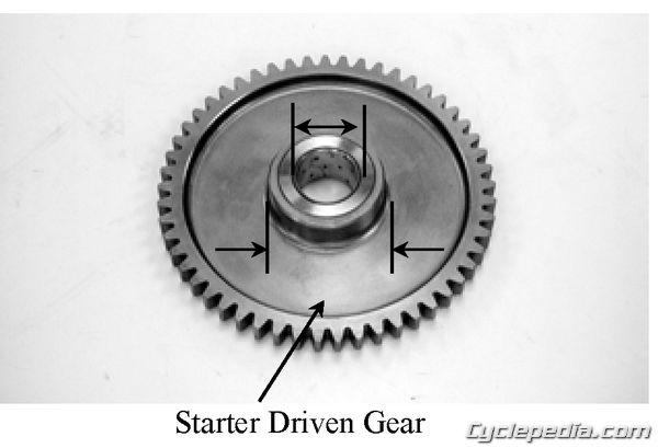 Grandvista 250 Starter Gear Clutch