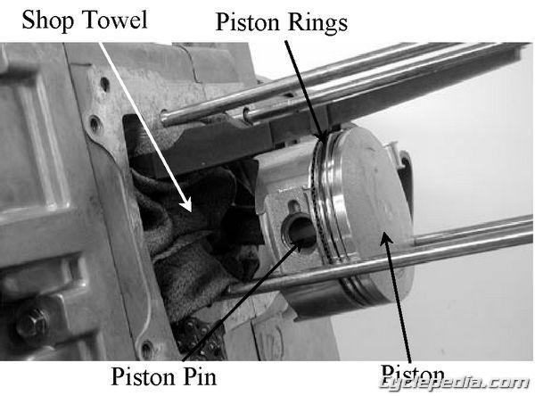 KYMCO Grand Vista 250 Piston Removal