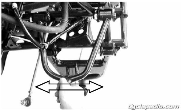 MXU 250 Front Suspension