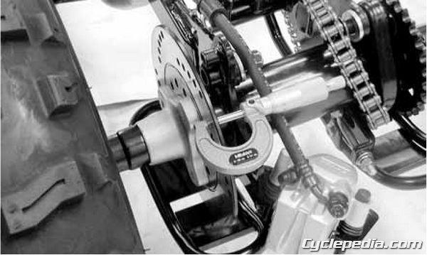 KYMCO Mongoose 50 70 90 Rear Brake