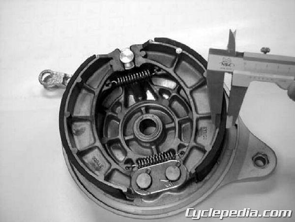 KYMCO Venox 250 Rear Brake