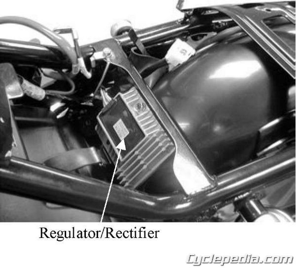 KYMCO Venox 250 regulator rectifier