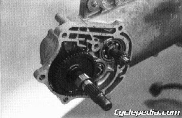 KYMCO Cobra 50 TOP BOY 100 50 Service Manual final drive oil transmission