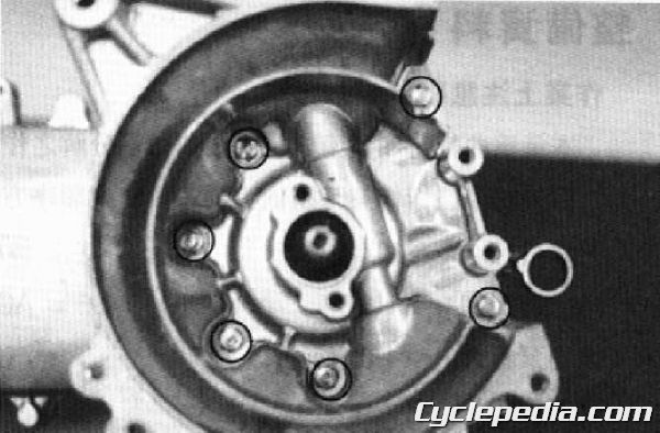 KYMCO Cobra 50 TOP BOY 100 50 Service Manual crankcase crankshaft bottom end