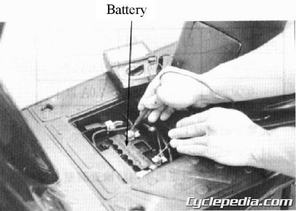 KYMCO Cobra-50 TOP BOY 100 50 Service Manual battery charging system troubleshooting