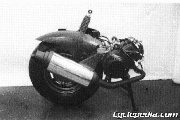 KYMCO Cobra 50 TOP BOY 100 50 Service Manual Engine Removal