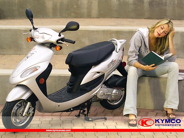 KYMCO Filly 50 Scooter Online Manual