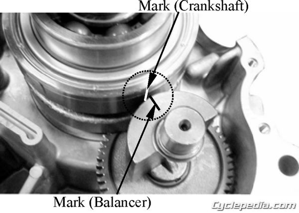 MXER 150 Crankshaft Removal