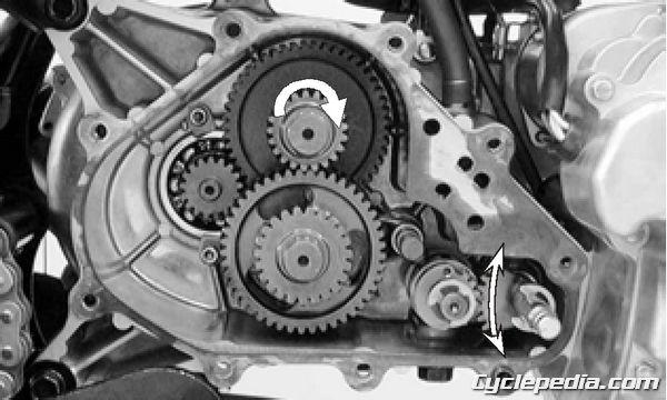 MXER 150 Transmission Removal