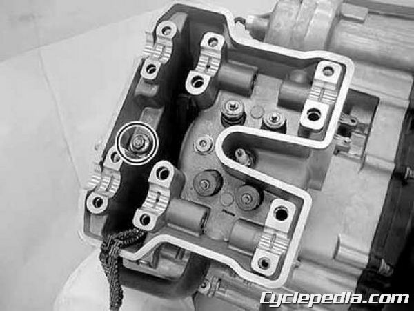 KYMCO MXU 500 4x4 cylinder head removal camshaft timing