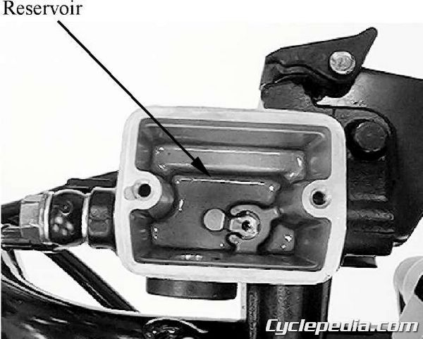 KYMCO MXU 500 4x4 brake master cylinder rebuild caliper fluid bleeding