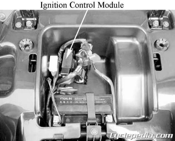 KYMCO MXU 500 4wd ICM ignition coil testing spark plug replacement