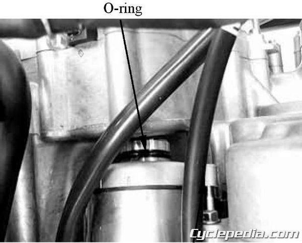 KYMCO MXU 500 4x4 starter motor relay inspection starter clutch