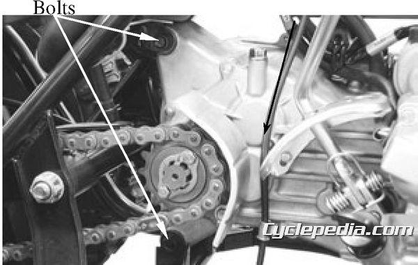 KYMCO MXER 150 Engine Removal