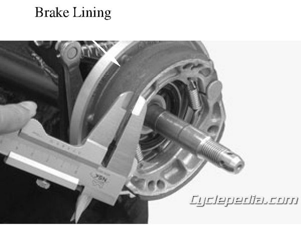 MXer 150 Rear Brake Rebuild