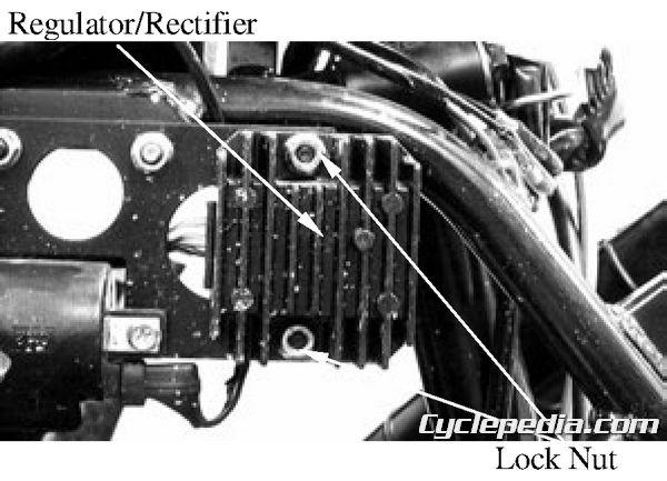 MXer 150 Regulator Rectifier