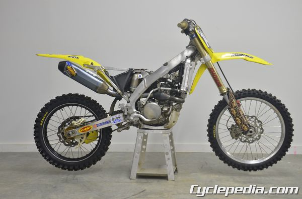 RMZ250 Suzuki Race Preparation