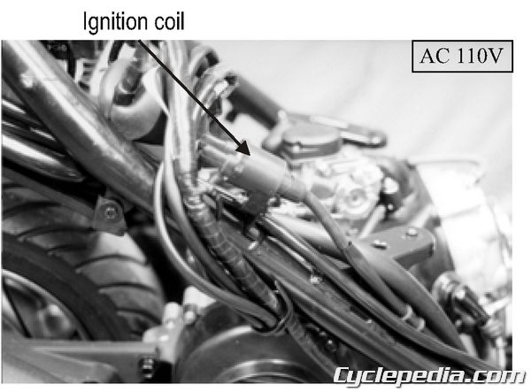 KYMCO Filly 50 Ignition System