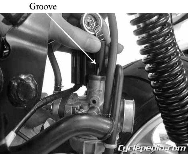 KYMCO Sting and YUP 50 2-stroke fuel tank carburetor rebuild
