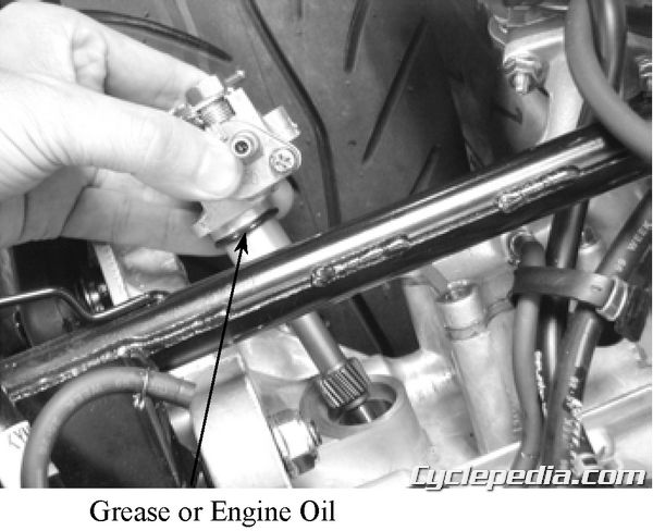 KYMCO Super 9 50 Service Manual Oil Injection Oil Pump 2-stroke oil