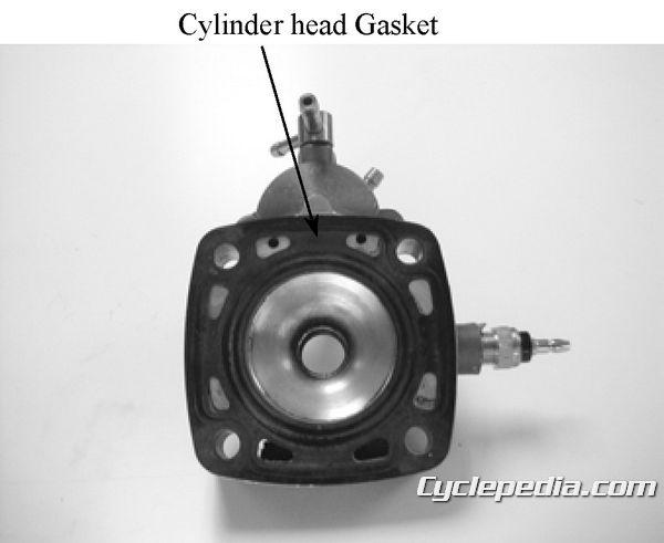 KYMCO Super 9 50 Service Manual cylinder head gasket