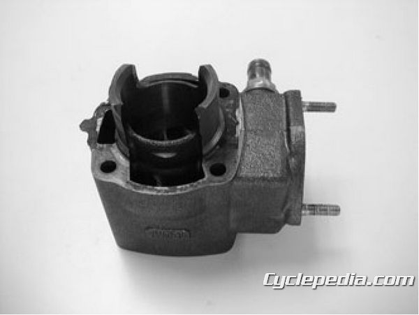 KYMCO Super 9 50 Service Manual 2 cycle cylinder and piston top end rebuild