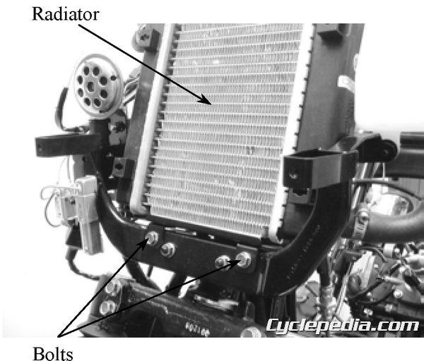 KYMCO Super 9 50 Service Manual radiator water pump seal replacement coolant leak