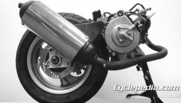 KYMCO Super 9 50 Service Manual water cooled two stroke engine removal swap