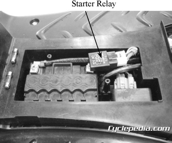 KYMCO Super 9 50 battery starter relay motor won't start troubleshooting