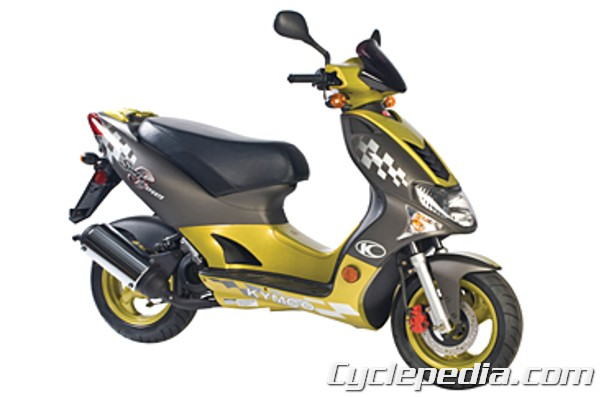 KYMCO Super 9 50 2T Scooter Online Service Manual - CyclepediaCyclepedia