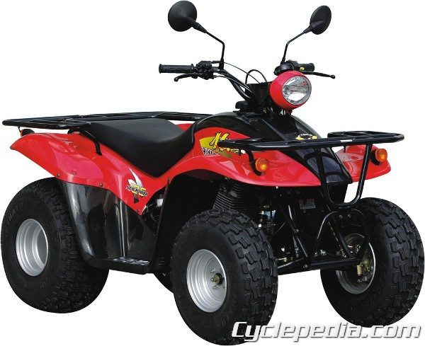 kymco mx 39 er 125 and 150 atv service manual cyclepedia. Black Bedroom Furniture Sets. Home Design Ideas